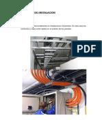 clasificacion de instalaciones eléctricas