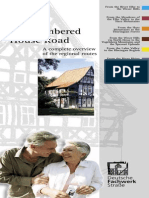 German Half-Timbered House Road