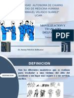 Movilizacion de Paciente