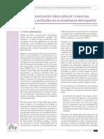 Creencias, Valores y Actitudes en La Enseñanza Del Español