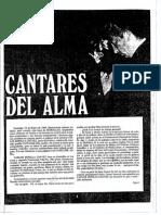 CANTARES DEL ALMA Revista Estrellas 1969