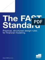 Fast Standards for Financial Modeling