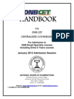 Handbook for CET Centralized Counseling - Jan-2013 _2