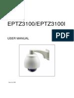 Eptz3100 and Eptz3100i User Manual