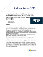 Windows Server 2012 Capacity Planning for VDI White Paper