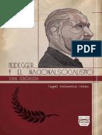 Xolocotzi Angel - Heidegger y El Nacionalsocialismo