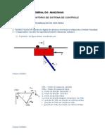 Exercício de Linearização de Sistemas de Controle
