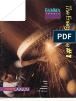 1991 Gamma Tennis Catalog