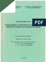 Ghid Metodologic Evaluare Impact Mediu UAT 2000