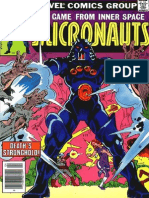 The Micronauts 4 Vol 1