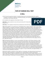 Kansas MGM Bill (2013)