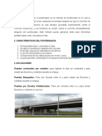 Arquitectura de Vigas Postensadocivil