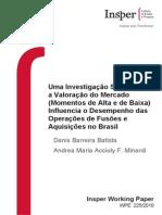 Batista D B - Uma Investigação Sobre Como a Valoração Do Mercado