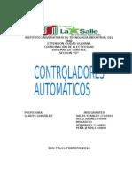 Controladores automáticos