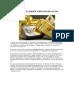 Articulo baja de precio de metales