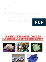 3. Clase. Clasif. Elem Nativos, Sulfuros, Sulfusales, Teluros y Arseniuros
