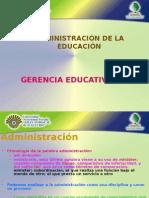 Administracion de La Educacion