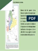 Registros Botánicos en Bosques Secos Tropicales de Colombia.