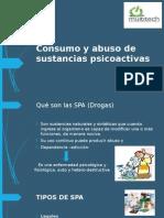 ConsumPrevencióo y Abuso de Sustancias Psicoactivas