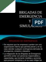 Brigadas de Emergencia Simulacros