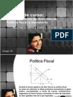 Politica Fiscal y MonetariaI