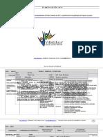 Planificacion Primer Semestre 4basico Matematica 2012