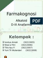 Farmakognosi Alkaloid