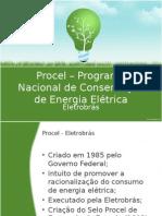 Procel Programa Nacional de Conservação de Energia