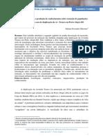 Expertises, Tecnologias e Produção de conhecimento sobre remoções