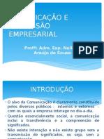 Comunicação e Expressão Empresarial - Slides