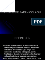Frotis de Papanicolaou