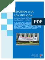 Reformas a La Constitución