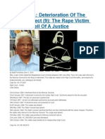 SRI LANKA Deterioration of the Legal Intellect (9) the Rape Victim Who Got Hell of a Justice