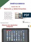 PPT SEMANA 06 2014 II-Matrices y Determinantes