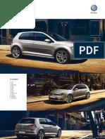 Ficha Técnica Volkswagen Golf