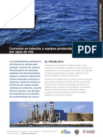 Polycorp Protective Linings Corrosion From Seawater Spanish
