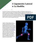 <h1>Lesion Del Ligamento Lateral Interno De La Rodilla</h1>