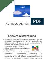 2 - ADITIVOS ALIMENTARIOS