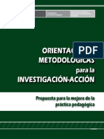 MINEDU Libro Orient Metod Investigacion Accion EVANS