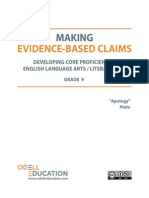 Evidence Based Claims