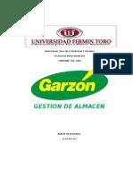 Gestion de Almacen Garzon