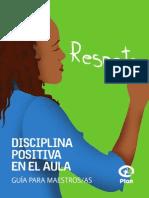 Guia Maestros Disciplina Postiva