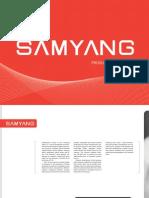 Catalog Samyang 2013