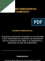 Examen Periodontalexamen periodontal