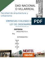 Empresas Chilenas en Peru