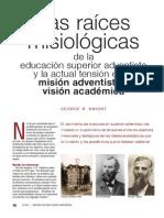Raices educacion adventista
