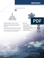 Bridon Oil & Gas Datasheets