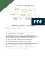 Flujograma de Nomenclatura de Acidos Asledy Quintero