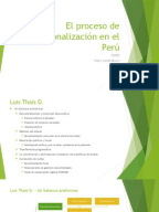 Proceso de regionalizacion en el peru ppt presentation