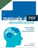 Debunking Handbook Italian